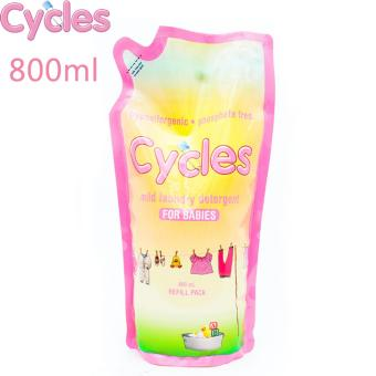 Cycles Mild Laundry Detergent 800 Ml Refill(...)