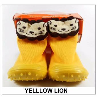 Harga Skidder Sepatu Bayi Motif Yellow Lion Uk 19 .