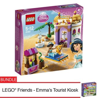 Harga LEGO® Disney Princess™ Jasmine's Exotic + LEGO® Friends Emma's Tourist Kiosk