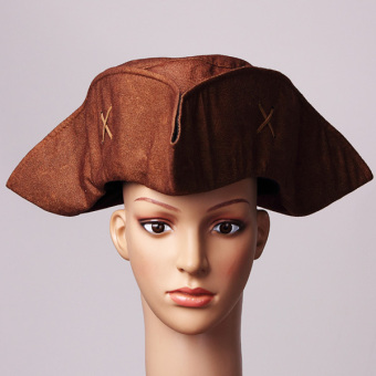 The Pirates of The Caribbean Jack Sparrow Hat