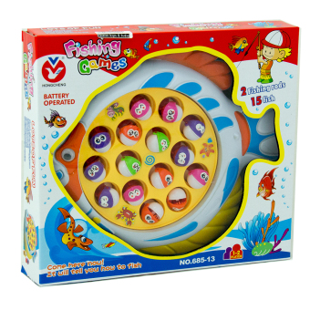 Harga MOMO Toys Fishing Game 685-13 Batterry Operated Ages 3+