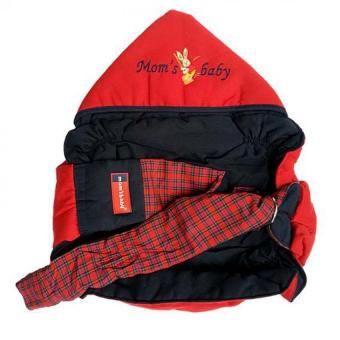 Harga Moms Baby Gendongan Samping Simple Topi Aplikasi Bordir - Merah Navy