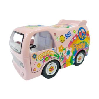 Harga AA Toys Kinsfun Die Cast Dream Car KS4102W Pink - Mainan Die Cast Pull Backs