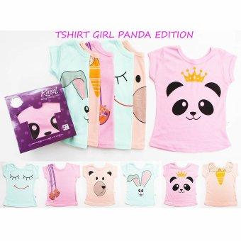 Harga Kazel Tshirt Panda Edition - S (1-2yr)