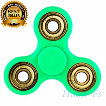 Harga New Fidget Spinner With Gold Bearing - 3 Varian Warna