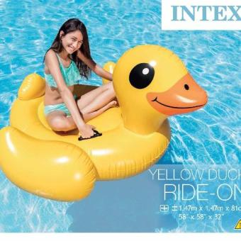 Harga Pelampung Intex Yellow Duck Ride-On 57556