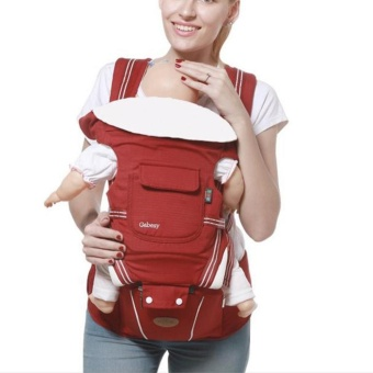 Harga Imixlot Baby back with four style 360 baby baby sling cottonmultifunction baby carrier air section - intl