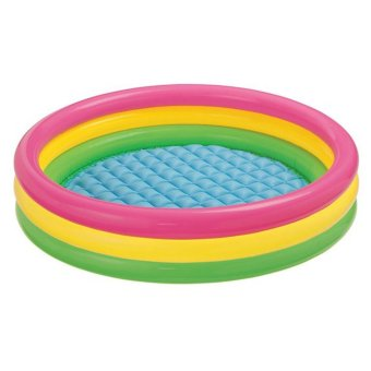 Intex Kolam Renang Anak Sunset Glow Baby Pool 3 Ring - 57412NP -114 cm