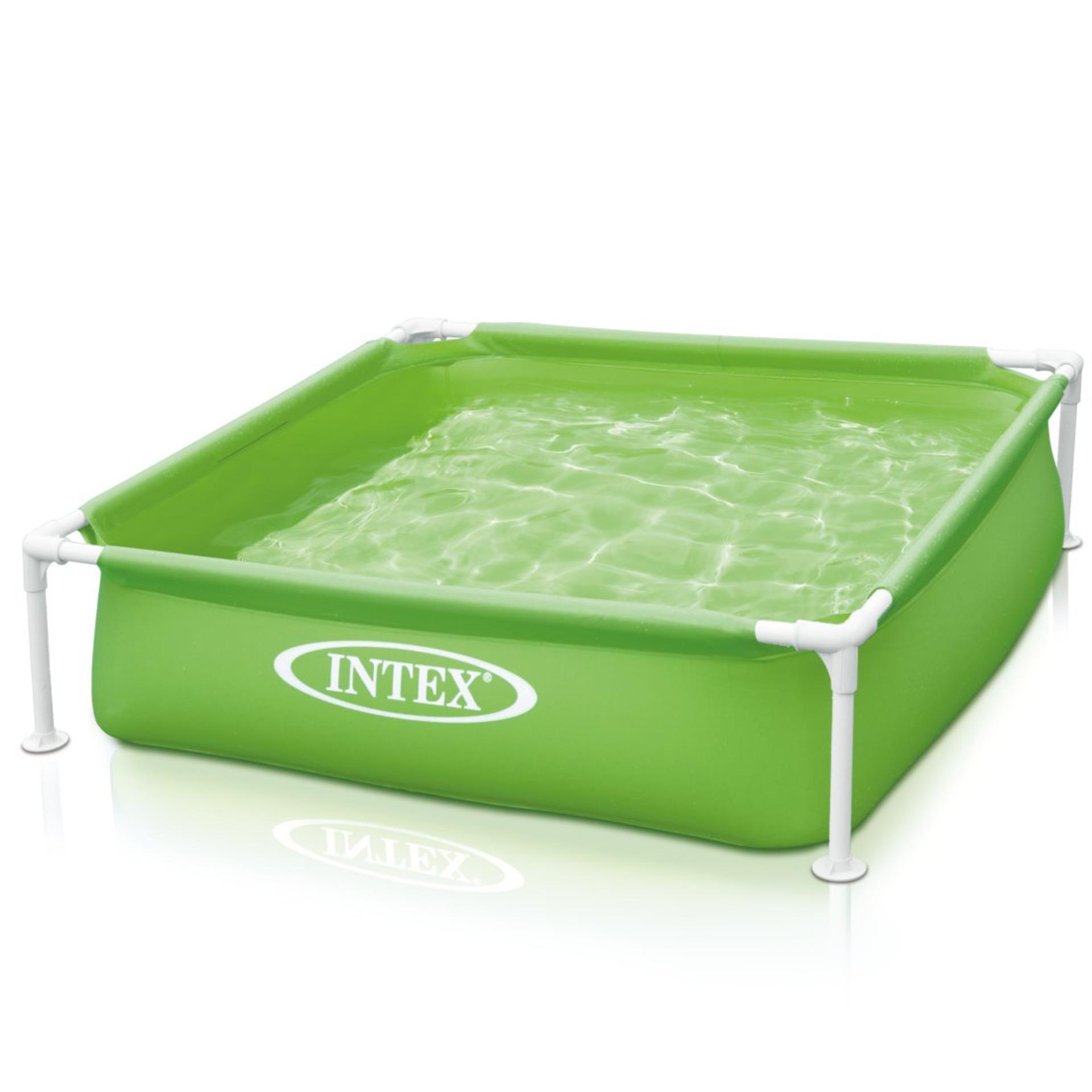 Kolam Renang Intex Swim Center Family Pool 584843 Daftar Harga See Through Round 57489 Blue Mini Frame Hijau Kotak Karet Anak 57172