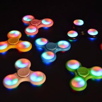 Tangan Penghilang Kebiasan Buruk Jbs Fidget Spinner With Led Hand Toys Focus Games .