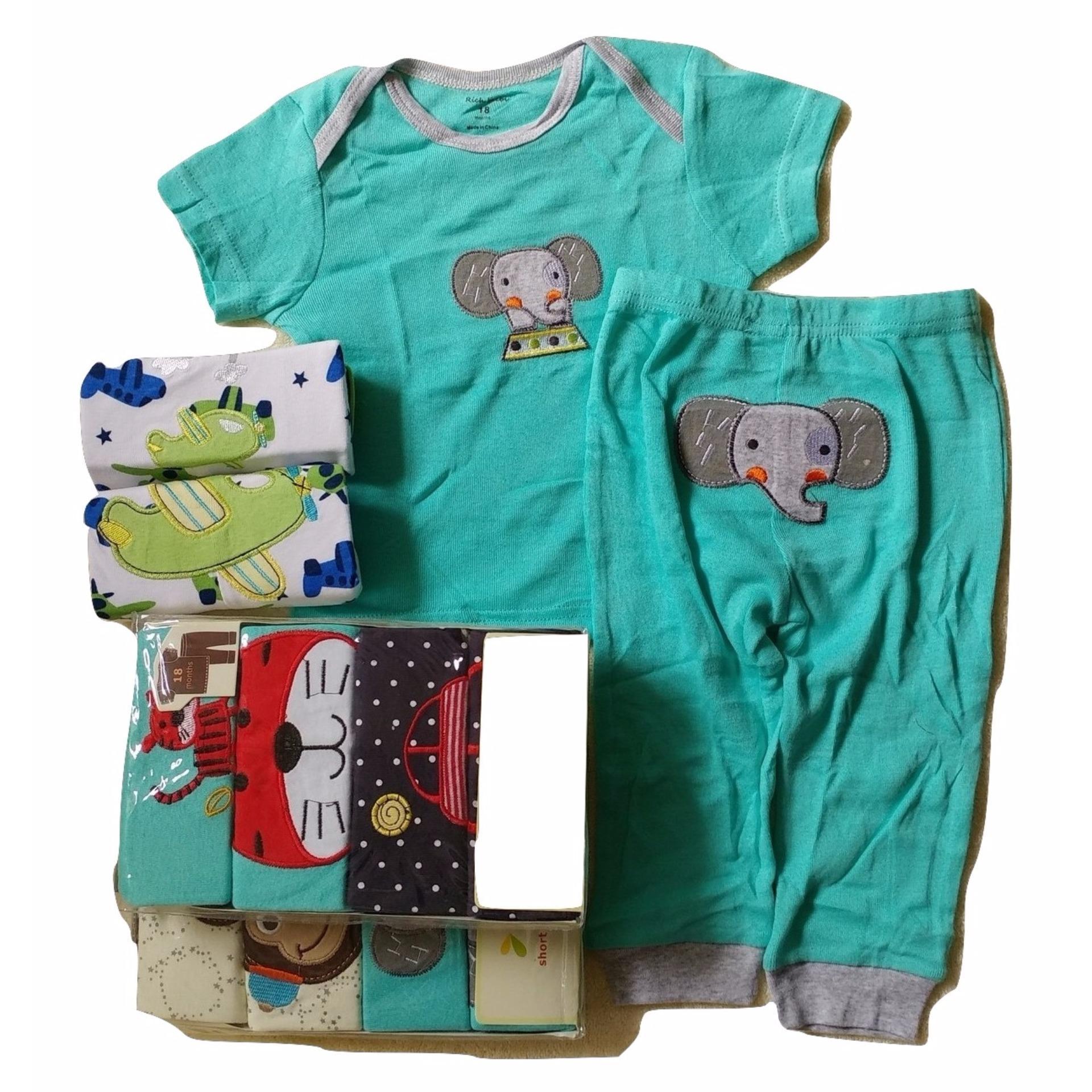 Jelova Angela 2pair Setelan Piyama Baju Tidur Baby Bayi Rich Beibi Recommended to .