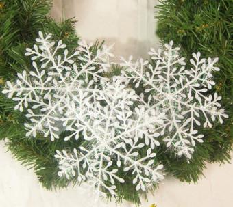 Jetting Buy 3 buah putih salju menghiasi pohon Natal dekorasi rumahFestival - ???? ?????? - 4