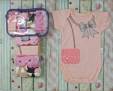 Kazel Bodysuit 4in1 Jumper Bayi Modern New Motif Girl