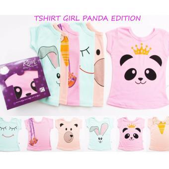 Harga KAZEL TSHIRT BABY GIRL PANDA EDITION 6IN1