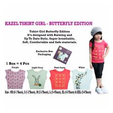 Kazel Tshirt Girl -  Butterfly Edition