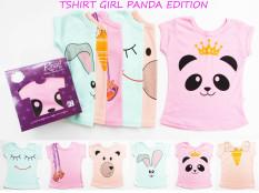 Kazel Tshirt Panda - NB ( 0 - 1 yr ) - Baju Bayi s.d Anak-anak