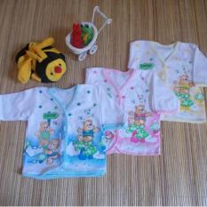 Kembarshop - Set 6 Pcs Baju Bayi Newborn Lengan Panjang