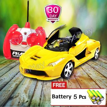 KokaPlay RC Express Rider Modern Team Mainan Mobil Radio Remote Control Buka 2 Pintu Sports Car