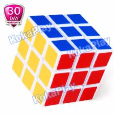 KokaPlay Rubik Cube 3 X 3 Full Color Mainan Edukasi Rubik Kubus Stickerless