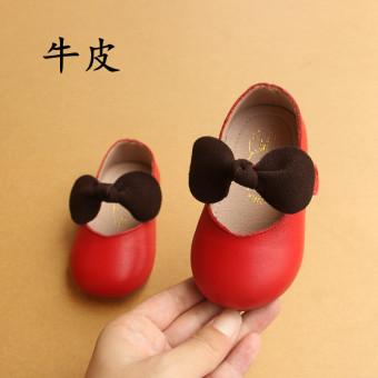 Kulit tergelincir Cooljie Putri sepatu sepatu tunggal