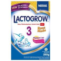 Lactogrow 3 Happynutri - Rasa Madu - 350 gr