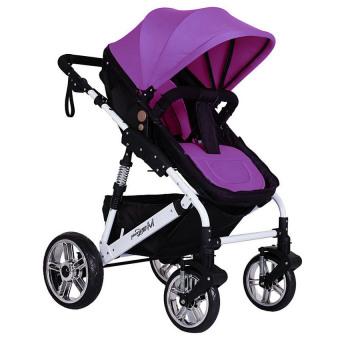 Lemon Purpl Washable Soft Stroller Pushchair Car Seat Padding Pram Linerpad Cushion - intl