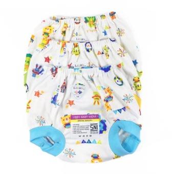 LIBBY Celana bayi pop Ukuran Besar - 3pcs