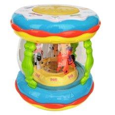 Lumi Toys Wondeland Merry Go Round Music Drum