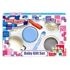 Lusty Bunny Gift Set Baby Food Maker Blue Perlengkapan Bayi - Peralatan Penghalus Makanan Bayi