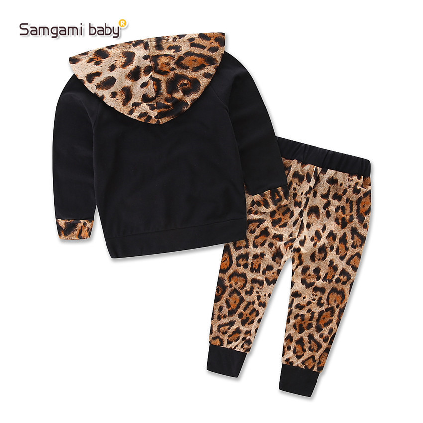 Macan tutul set pakaian bayi perempuan baru lahir anak bayi baju bayi perempuan .