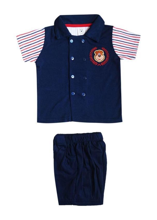 Freeshop Setelan Anak Perempuan Jumsuit Fashion Navy Daftar Source MacBear Baju Setelan Anak .