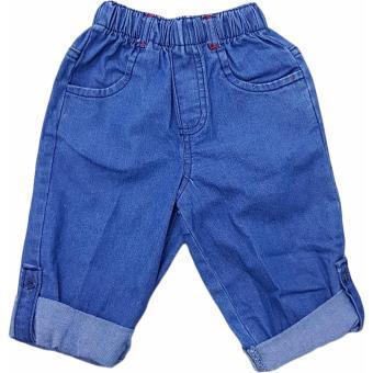 Macbear Celana Jeans Anak Squared Pocket Dark Blue Size 3