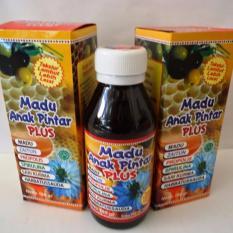 Madu Anak Pintar Plus - Paket 2 botol (1 botol berisi 180 gram)