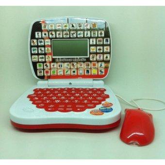 Mainan edukasi Laptop Mouse 2 bahasa
