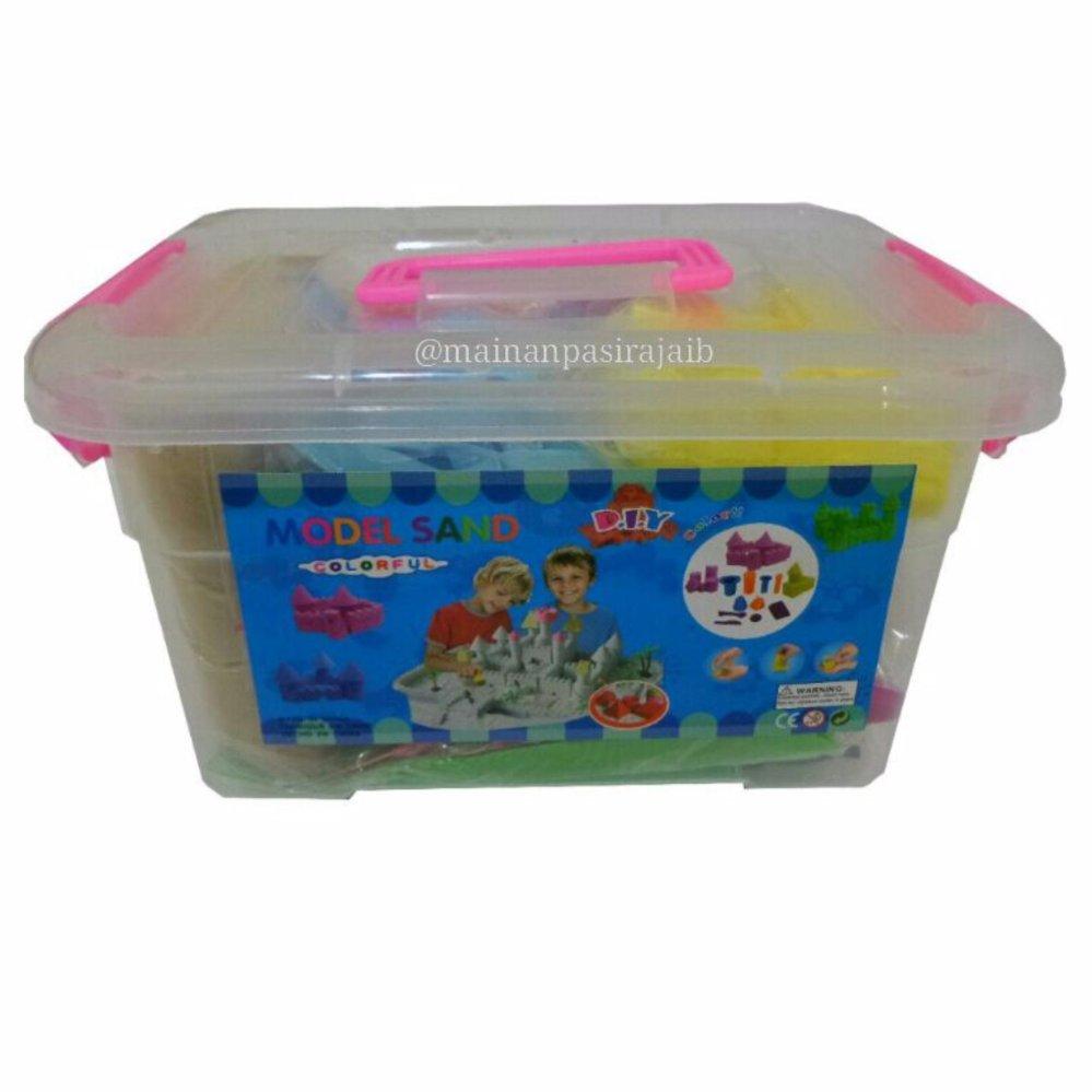 Eshop Checker Mainan Edukasi Pasir Ajaib Kinetik Kinetic Sand Balon Play Sandmodel 2kg 57 Aksesoris Dan Alas