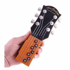 Mainan Gitar Listrik Electric Air Guitar Toy s6102 - Brown