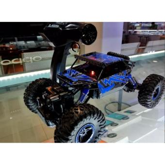Mainan RC Rock Crawler 4WD ROCK LEADER 2.4Ghz Skala 1.18 MobilRemote Controller Rc Offroad Monster Jump