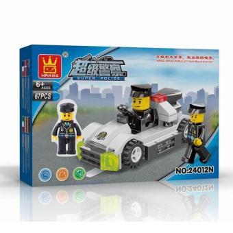 MAINAN WANGE 24012N POLICE CAR BISA UNTUK KADO
