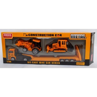 mainananakbaby - diecast mobil Alat Berat exca loader MetalConstruction Car