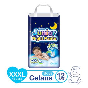 MamyPoko Popok Junior Night Pants - XXXL 12 - Boys