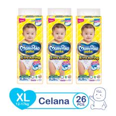 MamyPoko Popok Pants Standard - XL 26 - isi 3 [Exclusive Packaging]