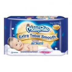 MamyPoko Tissue Basah Extra Tebal Smooth Fragrance - 50 Lembar