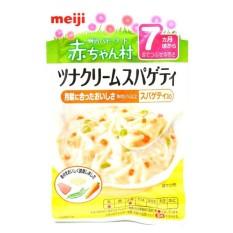 Meiji Tuna Cream Spaghetti Meal Pouch 80gr - 7m+