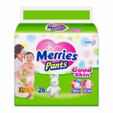 MERRIES Popok Pants Good Skin XL 26