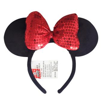 HARGA Mickey Mouse Ulang Tahun Ikat Kepala Busur Pita Rambut TERPOPULER
