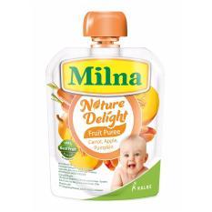 Milna Nature Delight Apple, Pumpkin & Carrot 80gr
