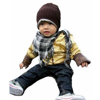 MJW Hat - Kupluk Bolak Balik untuk Bayi dan Anak - Kupluk Bayi TopiBayi Topi  Lucu 30f8ef6107