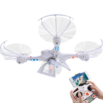 Harga MJX X400 FPV 2.4G 6 Axis RC Quadcopter Drone With Camera andBracket
