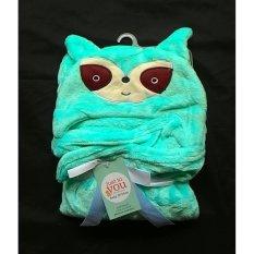Rp 75.000 MomBaby Selimut Topi Double Fleece / Selimut Hoodie 3D / Hoodie Blanket Tudung /