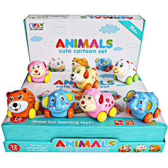 Momo Toys Naughty Animal Paradise 376 Ages 18m+ - Mainan Animal Paradise 1 Pcs
